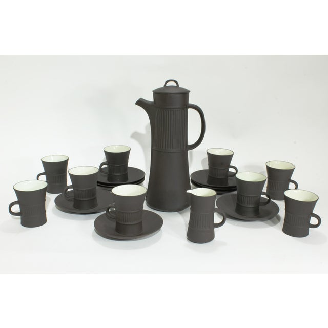 White Dansk Flamestone Coffee Service by Jens Quistgaard, 21 Piece Set For Sale - Image 8 of 8