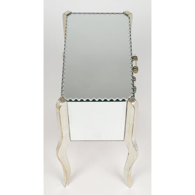 French Art Deco Mirrored Side Tables - A Pair - Image 7 of 10