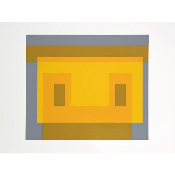 "Josef Albers ""Portfolio 2, Folder 9, Image 2"" Print For Sale"