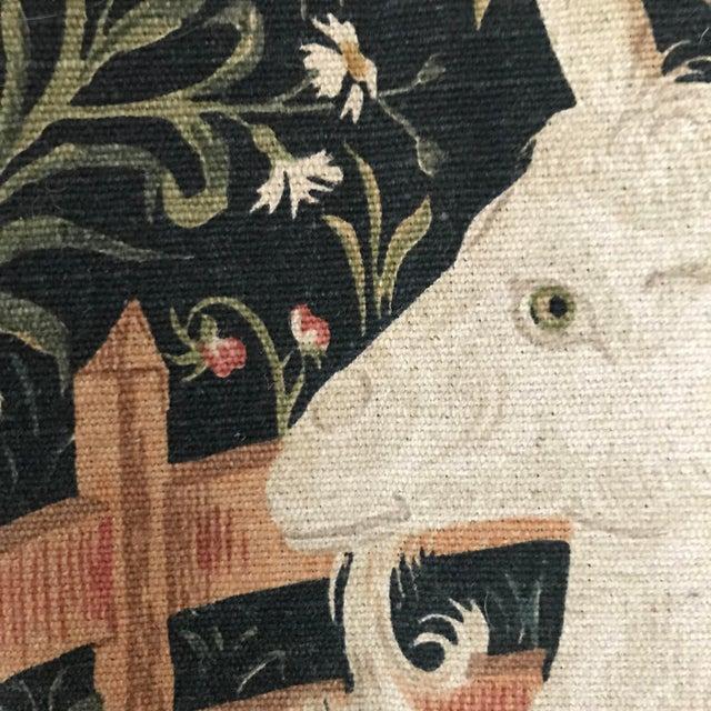 Fabric 1970s Vintage Jp Paris Panneaux Gobelins Tapestry For Sale - Image 7 of 10