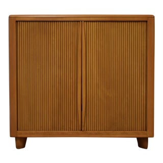 Heywood Wakefield Tambour Maple Dresser