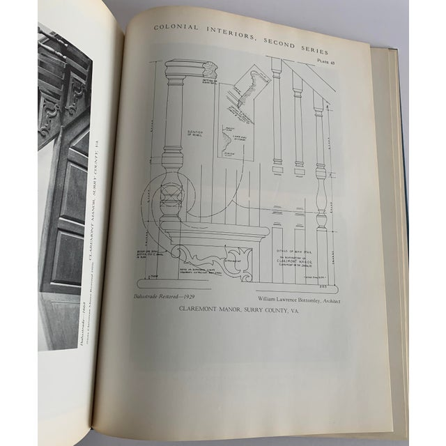 Blue Colonial Interiors Hardcover Book For Sale - Image 8 of 13