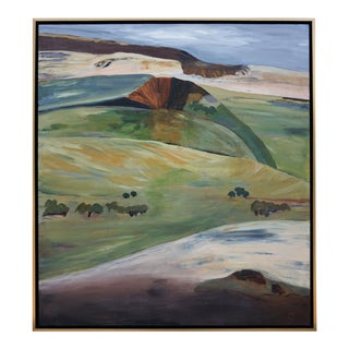 "Laurie MacMillan ""Mud Season, Volcano Country"" Landscape For Sale"