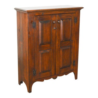 Stephen Von Hohen Bucks County Solid Pine 2-Door Cabinet