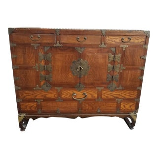 Japanese Tansu Chest Early 1900's For Sale