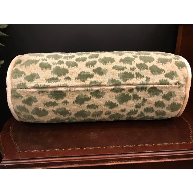 Hollywood Regency Hollywood Regency Brunschwig & Fils Zambezi Grospoint Leopard Velvet Epingle Pillow For Sale - Image 3 of 5