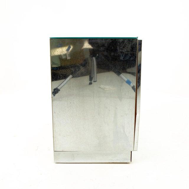 "Ello Mirrored Mid Century ""Skyscraper"" Nightstand - Pair For Sale - Image 10 of 13"