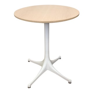 Herman Miller Modern Wood Nelson Pedestal Side Table