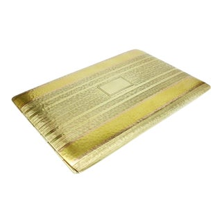 14-Karat Gold Tiffany Cigarette Case, Circa 1920 For Sale