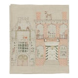 Image of French Country Home for the Holidays Table Runner For Sale