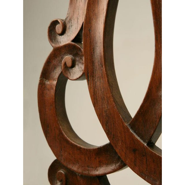 Eighteenth Century Hand-Carved Irish Chippendale Side Chair For Sale - Image 9 of 10