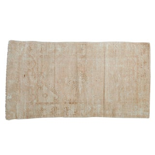 "Vintage Distressed Oushak Rug - 2'6"" X 4'7"" For Sale"