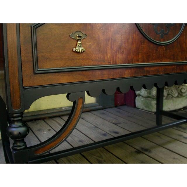 Gothic Jacobean Mahogany Dresser - Image 7 of 11