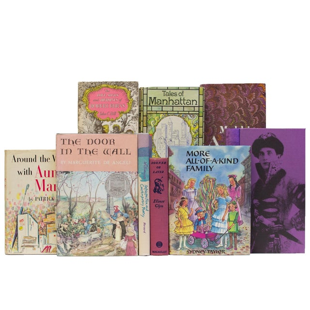 Transitional Vintage Orchid MIX Media Books - Set of 20 For Sale - Image 3 of 4