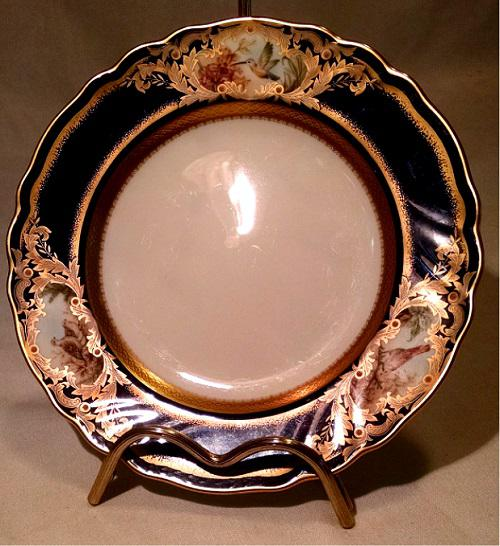 Gold Cobalt Hummingbird Bread and Butter Plate in Foxboro by Noritake - Image 4 of 8 & Gold Cobalt Hummingbird Bread and Butter Plate in Foxboro by ...