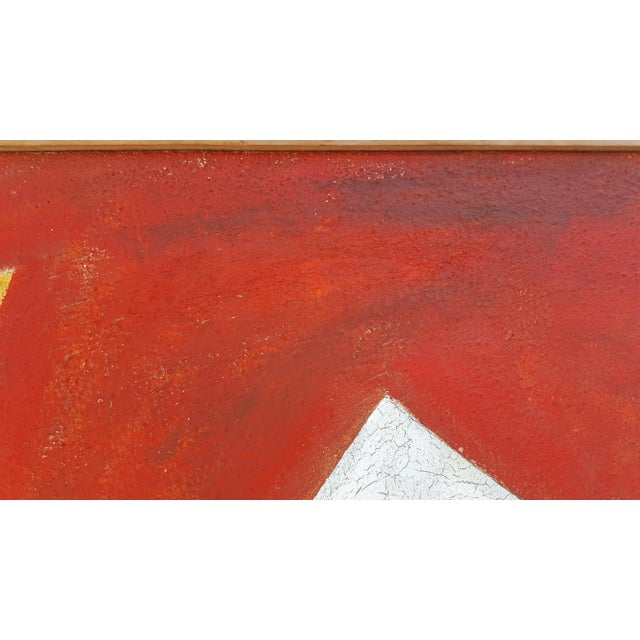 1977 Intermezzo Abstract Painting By Chester T. Kuziora - Image 9 of 11