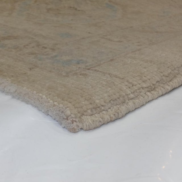 "Leon Banilivi Khotan Carpet - 9'1"" X 12' For Sale - Image 5 of 5"