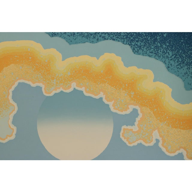 """Contemporary Richard Gilbert """"Age of Grace"""" Surrealist Serigraph Print For Sale - Image 3 of 7"""