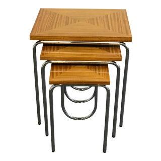 Art Deco Nesting Tables - Set of 3