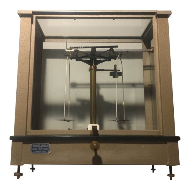 Antique Ainsworth Analytical Balance Scale - Circa 1930's For Sale