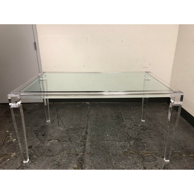 PlexiCraft Of New York King George Dinning Table Chairish - Plexi craft coffee table