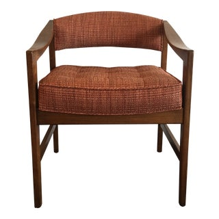 1960s Mid-Century Modern Edward Wormley for Dunbar Club Chair For Sale