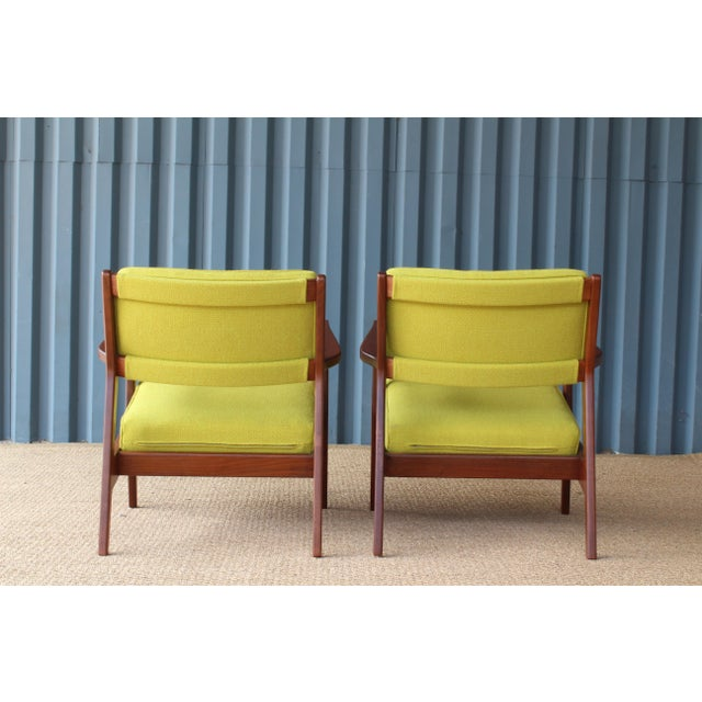 Jens Risom Design Jens Risom Armchairs, U.S.A, 1960s - a Pair For Sale - Image 4 of 10