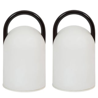 """1980s Romolo Lanciani for Tronconi """"Tender"""" Table Lamps - a Pair For Sale"""