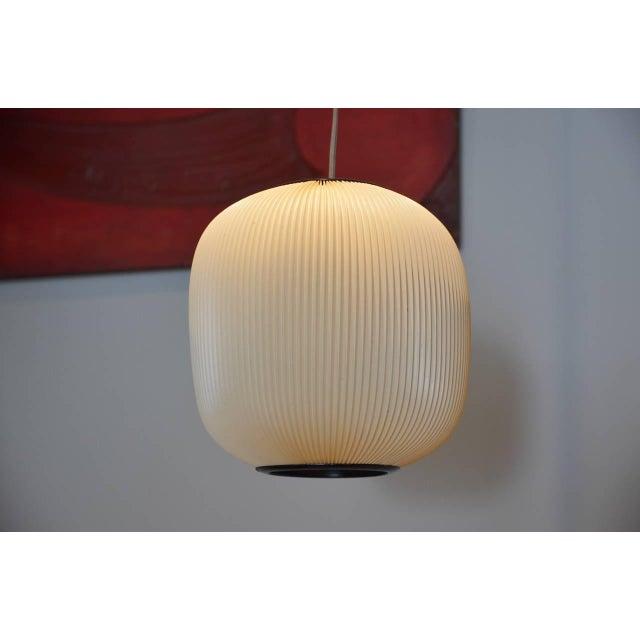 Modern 1960s Rispal French Modern Hanging Lantern For Sale - Image 3 of 4