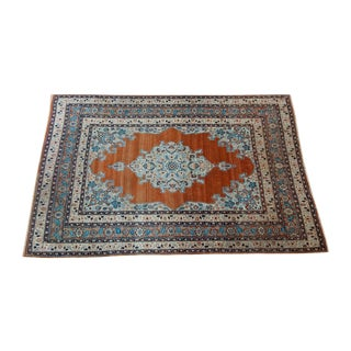 "Fine Antique Tabriz Rug - 3'11"" X 5'10"""