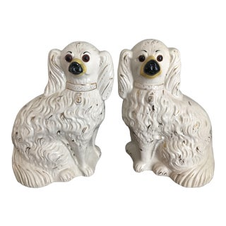 Early Staffordshire Dogs - A Pair For Sale