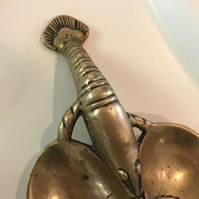 Vintage Brass Lobster - Image 6 of 7