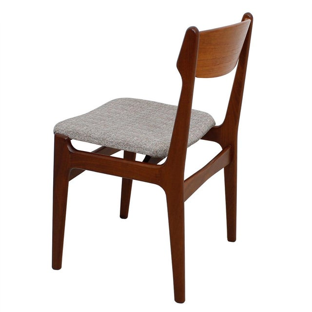 Danish Teak Dining Chairs - Set of 4 - Image 3 of 10