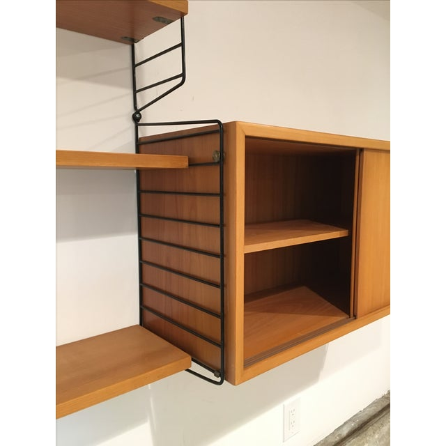 String Shelves and Cabinet by Nisse Strinning For Sale - Image 9 of 11