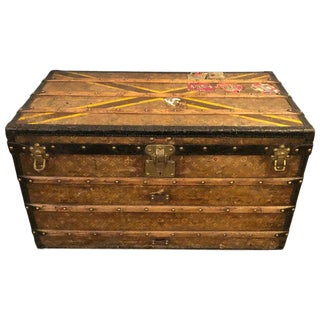 Louis Vuitton Monograph Steamer Trunk For Sale