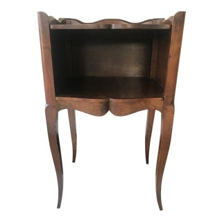 20th Century French Walnut Side Table For Sale