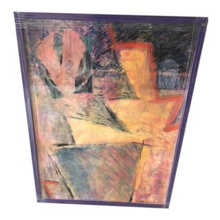 Original Abstract Pastel Art For Sale