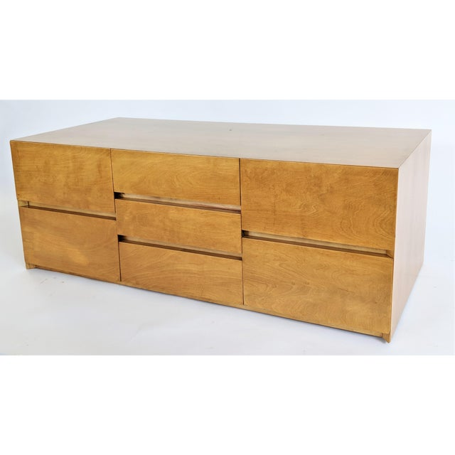 Brown Edmond Spence Cabinet in Maple For Sale - Image 8 of 8