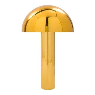 Karl Springer LTD, Brass Mushroom Table Lamp, USA, 2016 For Sale