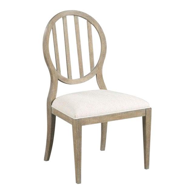 Vintage Finish Emma Side Chair For Sale