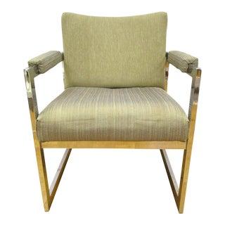 Mid-Century Modern Chair Chrome Chair