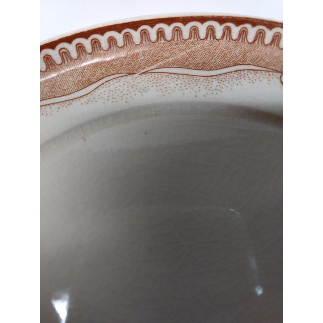 Green European Porcelain Coffee Service Bowl For Sale - Image 8 of 13