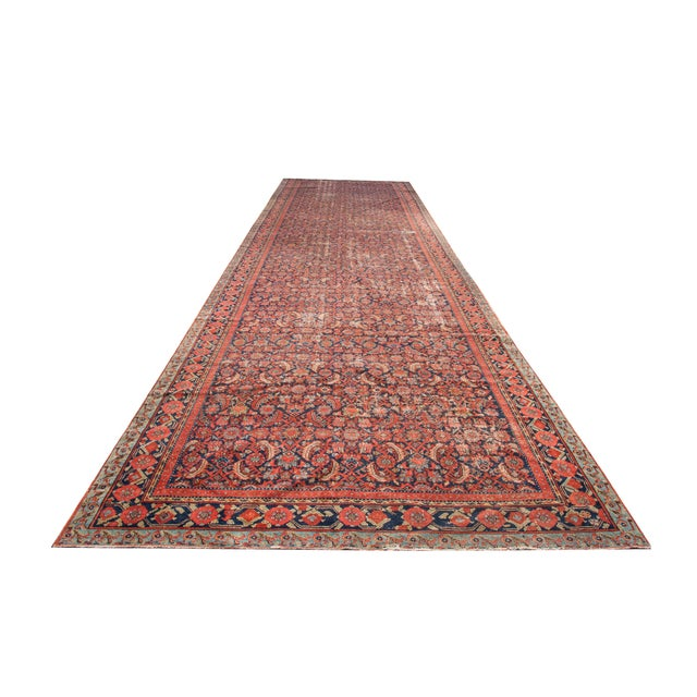 "Persian Malayer Palace Runner 7' x 19'2"" - Image 1 of 6"