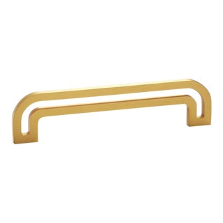 Deco-5.5 Satin Brass Handle For Sale