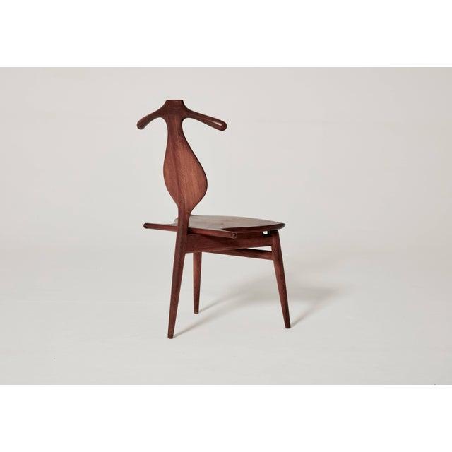 Mid 20th Century Hans Wegner Valet Chair, Made by Johannes Hansen, Denmark, 1950s-1960s For Sale - Image 5 of 11