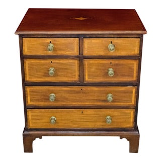 19th Century George III Mahogany Chest of Drawers