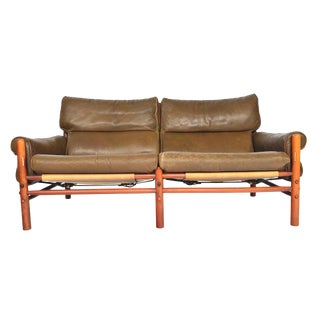 Arne Norell Kontiki Loveseat For Sale