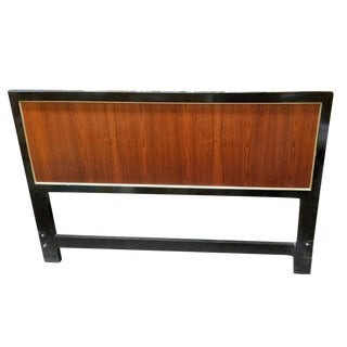 1960s-1970s Vintage Harvey Probber Queen Size Rosewood Headboard For Sale