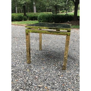 1970s French Maison Jansen Brass Occasional Table Preview