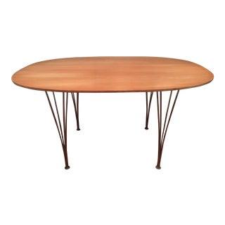 1960s Arne Jacobsen / Piet Hein for Fritz Hansen Elliptical Dining Table For Sale